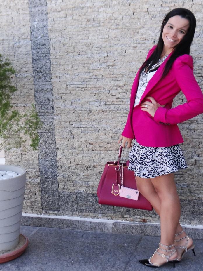 pink e estampa