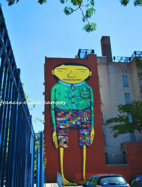 O Gigante- Os Gêmeos- Chelsea-NYC-Ago 2010