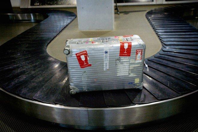 bagagem fragil
